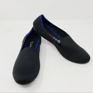 [Rothy's] Black Washable The Loafer Flats